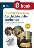 Überblickswissen Geschichte aktiv erarbeiten 7-8 (eBook, PDF)