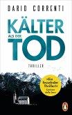 Kälter als der Tod (eBook, ePUB)