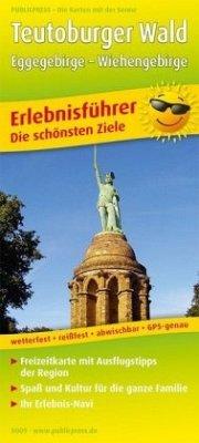PublicPress Erlebnisführer Teutoburger Wald, Eggegebirge, Wiehengebirge