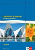 Lambacher Schweizer Mathematik Einführungsphase - G9. Arbeitsheft plus Lösungen Klasse 11. Ausgabe Niedersachsen