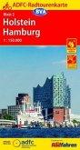 ADFC-Radtourenkarte Holstein Hamburg 1:150.000, reiß- und wetterfest, GPS-Tracks Download