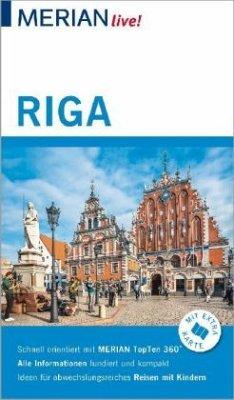MERIAN live! Reiseführer Riga - Bauermeister, Christiane