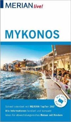 MERIAN live! Reiseführer Mykonos - Korfmann, Hans W.