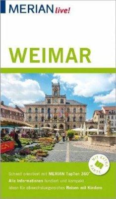 MERIAN live! Reiseführer Weimar - Lammert, Andrea