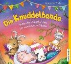 3-Minuten-Geschichten für wundervolle Träume / Die Knuddelbande Bd.2 (1 Audio-CD)