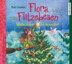 Winterzauber im Hexendorf / Flora Flitzebesen Bd.5 (2 Audio-CDs)