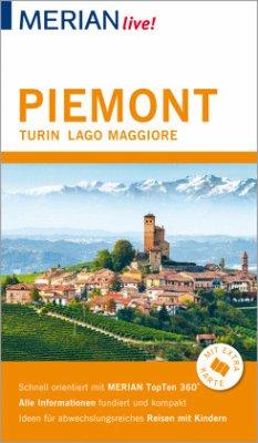 MERIAN live! Reiseführer Piemont Turin Lago Maggiore - Lutz, Timo