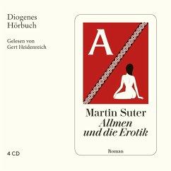 Allmen und die Erotik / Johann Friedrich Allmen Bd.5 (4 Audio-CDs) - Suter, Martin