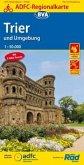 ADFC-Regionalkarte Trier und Umgebung mit Tagestouren-Vorschlägen, 1:75.000, reiß- und wetterfest, GPS-Tracks Download
