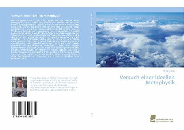 Versuch einer ideellen Metaphysik - Bert, Philipp