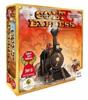Colt Express Bundle, Grundspiel + 1. Erweiterung (Spiel)