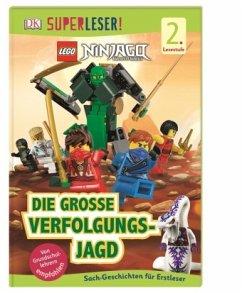 SUPERLESER! LEGO® NINJAGO® Die große Verfolgungsjagd / Superleser 2. Lesestufe Bd.19