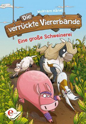 Buch-Reihe Die verrückte Viererbande