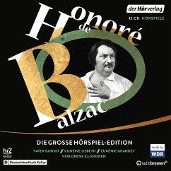 Die große Hörspiel-Edition, 12 Audio-CDs - Balzac, Honoré de
