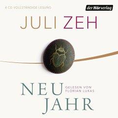 Neujahr, 4 Audio-CDs - Zeh, Juli