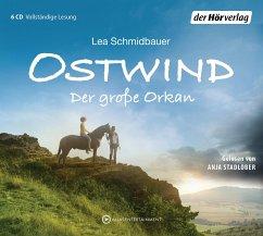 Der große Orkan / Ostwind Bd.6 (6 Audio-CDs) - Schmidbauer, Lea