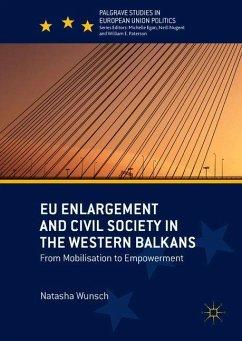 EU Enlargement and Civil Society in the Western Balkans - Wunsch, Natasha