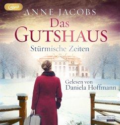 Stürmische Zeiten / Das Gutshaus Bd.2 (2 Teile, MP3-CD) - Jacobs, Anne