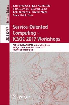 Service-Oriented Computing - ICSOC 2017 Workshops