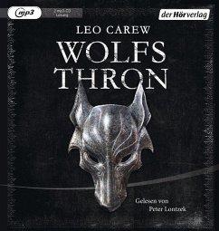 Wolfsthron / Under the Northern Sky Bd.1 (2 MP3-CDs) - Carew, Leo