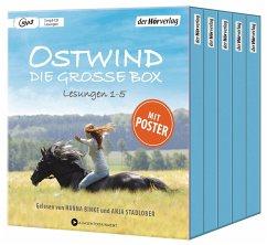 Ostwind. Die große Box, 5 MP3-CD - Schmidbauer, Lea;Henn, Kristina M.