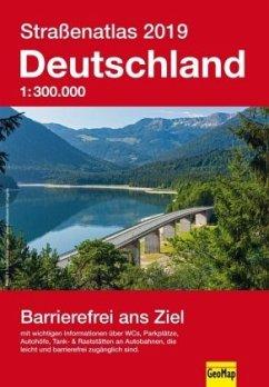 Straßenatlas Deutschland 2019
