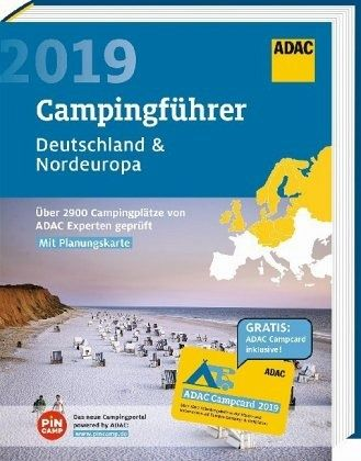 adac campingf hrer deutschland nordeuropa 2019 portofrei. Black Bedroom Furniture Sets. Home Design Ideas