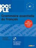 100% FLE - Grammaire essentielle du français A1, m. MP3-CD