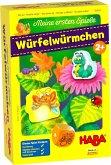 HABA 303639 - Meine ersten Spiele, Würfelwürmchen, Würfelspiel