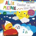 Alle meine Klassiker zur Guten Nacht, 1 Audio-CD