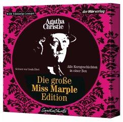 Die große Miss-Marple-Edition, 9 Audio-CDs - Christie, Agatha