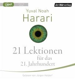 21 Lektionen für das 21. Jahrhundert, 2 MP3-CD - Harari, Yuval Noah