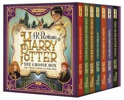Harry Potter. Die große Box. Alle 7 Bände, 14 MP3-CDs - Rowling, J. K.