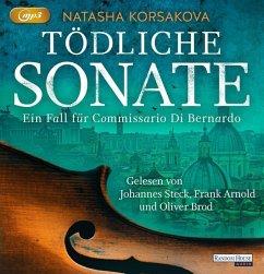 Tödliche Sonate / Commissario Di Bernardo Bd.1 (2 MP3-CDs) - Korsakova, Natasha