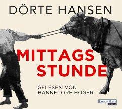 Mittagsstunde, 9 Audio-CDs - Hansen, Dörte