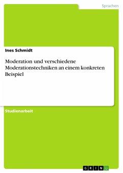 Moderation und verschiedene Moderationstechniken an einem konkreten Beispiel - Schmidt, Ines
