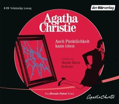 Auch Pünktlichkeit kann töten, 3 Audio-CDs - Christie, Agatha