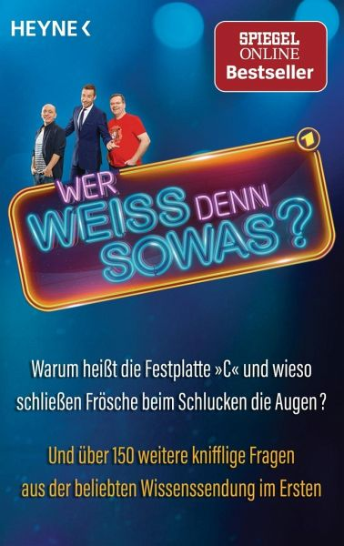 Wer Weiss Denn Sowas Bd 1 Als Taschenbuch Portofrei Bei Bucher De