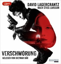Verschwörung / Millennium Bd.4 (1 MP3-CD) - Lagercrantz, David