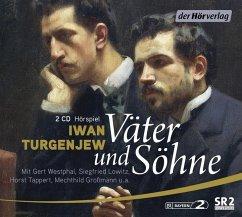 Väter und Söhne, 2 Audio-CDs - Turgenjew, Iwan S.