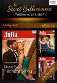 The Secret Billionaires - Wetten, es ist Liebe? - 3-teilige Serie (eBook, ePUB)