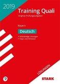 Lösungen zu Training Abschlussprüfung Quali Mittelschule Bayern 2019 - Deutsch 9. Klasse
