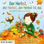Der Herbst, der Herbst, der Herbst ist da, 1 Audio-CD