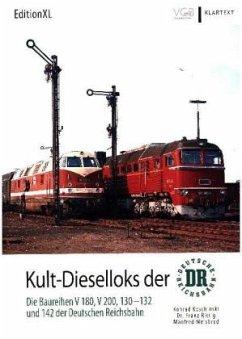 Kult-Dieselloks der DR - Koschinski, Konrad;Rittig, Franz;Weisbrod, Manfred
