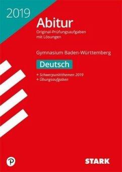 Abiturprüfung Baden-Württemberg 2019 - Deutsch