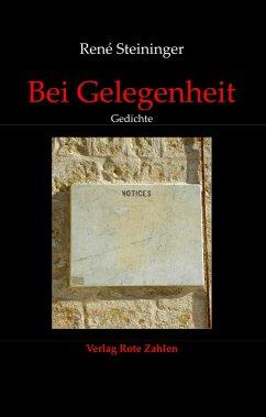 Bei Gelegenheit - Steininger, René