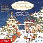 Weihnachten! 24 Geschichten mit Tilda Apfelkern, Snöfrid und vielen anderen, 3 Audio-CDs