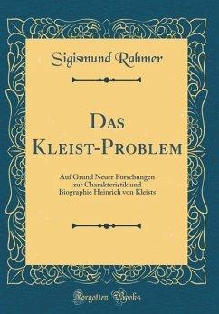 Das Kleist-Problem - Rahmer, Sigismund