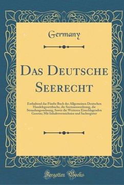 Das Deutsche Seerecht - Germany, Germany