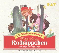 Rotkäppchen und weitere Märchen, 1 Audio-CD - Grimm, Jacob;Grimm, Wilhelm